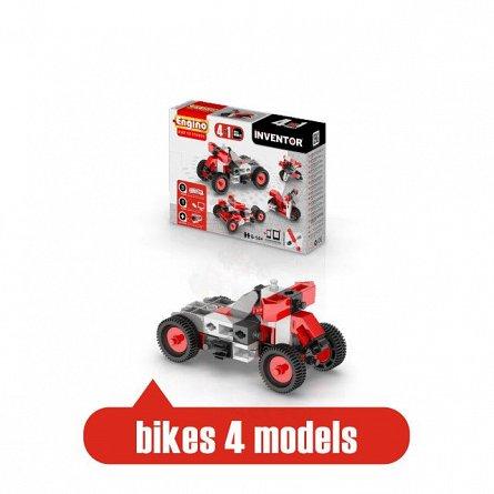Engino,set constructie Inventor,4in1,Motociclete