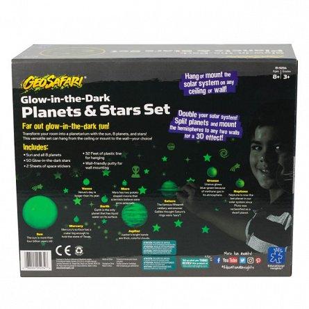 Sistem solar reflectorizant cu stelute