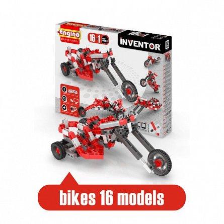 Engino,set constructie Inventor,16in1,Motociclete