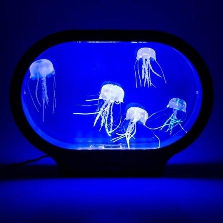 Lampa ambientala Acvariu Meduze, ovala,mare - Jellyfish