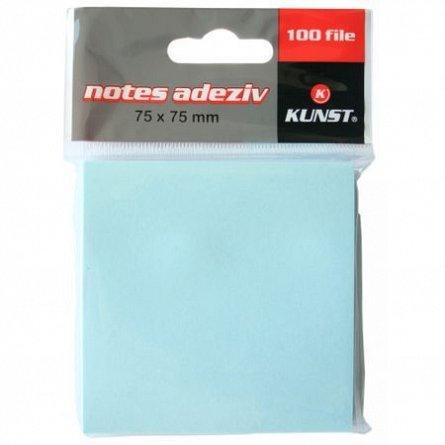 Notes adezive Kunst, 75 x 75mm, diverseculori