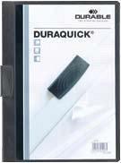 Dosar Duraquick cu clema,20coli,negru