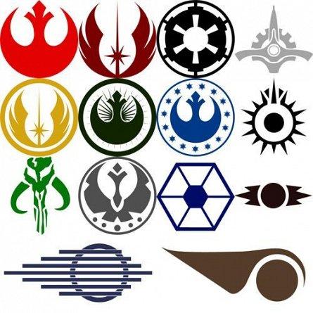 Set Abtibilduri Vinyl - Star Wars Rebellion