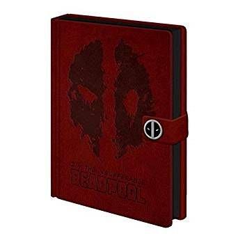 Caiet A5 Clasp Deadpool (Splat) Premium