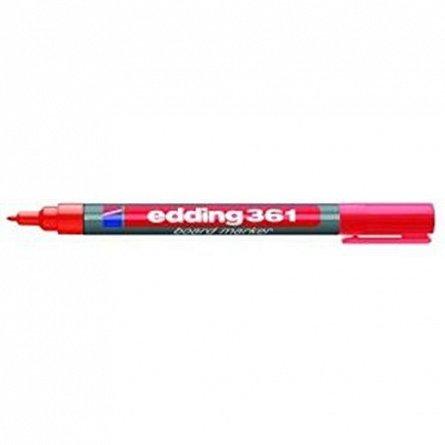 Marker tabla Edding 361,vf.1mm,rosu