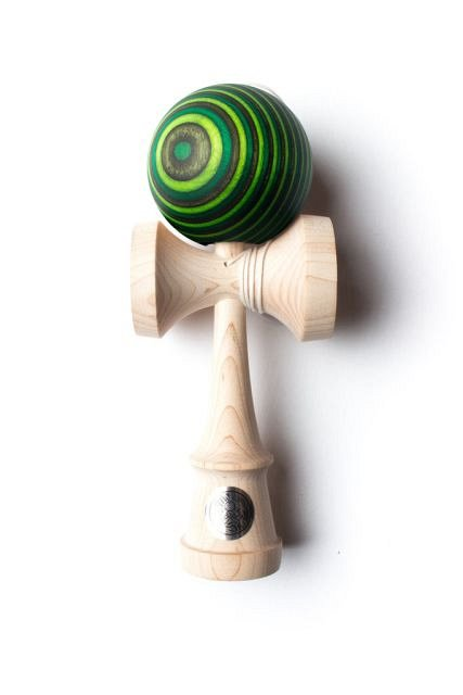 Kendama SWEETS HOMEGROWN MAPLE WITH GREEN GOBLIN COMPLETE