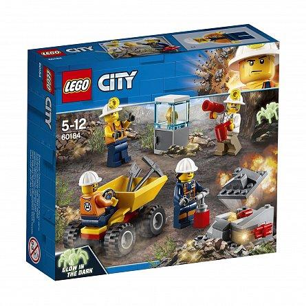 Lego-City,Echipa de minerit