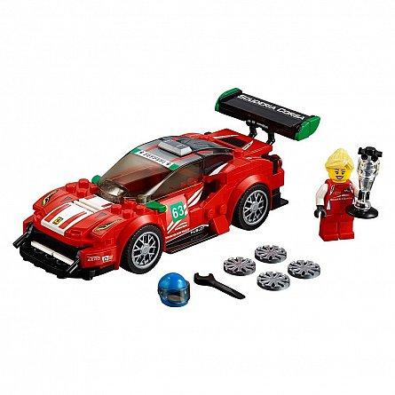 Lego-Speed Champions,Ferrari 488 GT3 ?Scuderia Corsa?