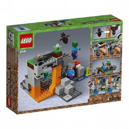 Lego-Minecraft,Pestera cu zombi