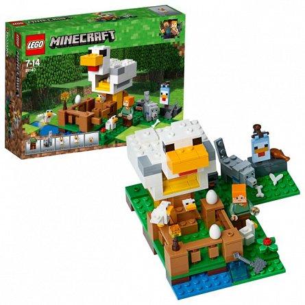 Lego-Minecraft,Cotetul de gaini