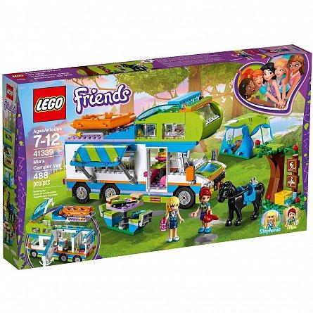 Lego-Friends,Furgoneta de camping a Miei