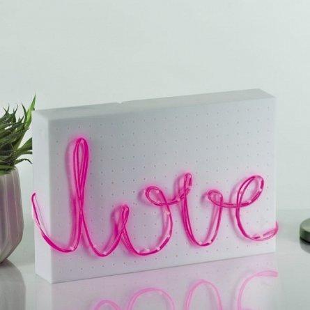 Cablu luminescent T3K Neon DIY, Roz