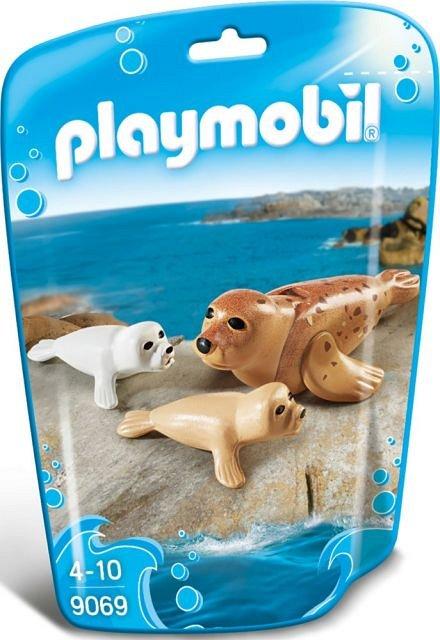 Playmobil-Foca si puii sai