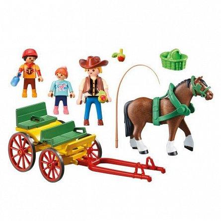 Playmobil-Trasura cu cal