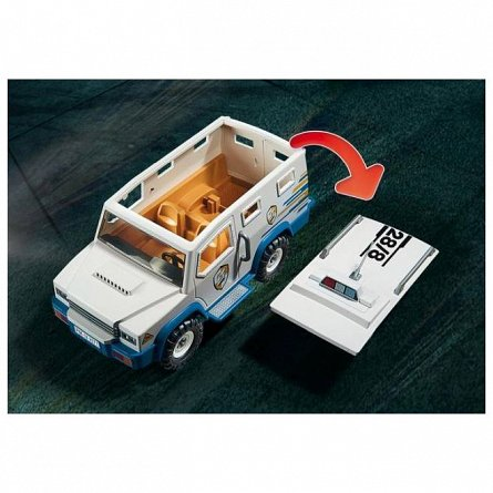 Playmobil-Masina de politie blindata