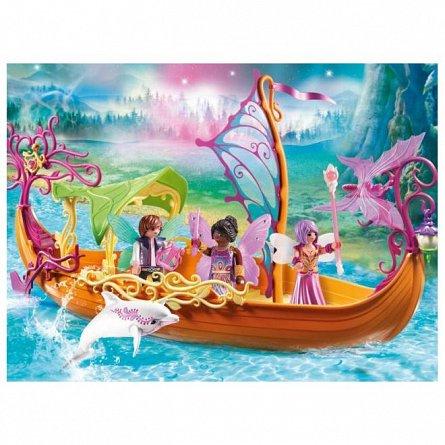 Playmobil-Barca magica cu zane