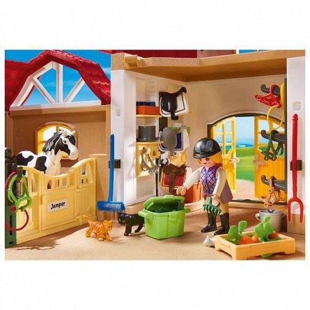 Playmobil-Ferma calutilor