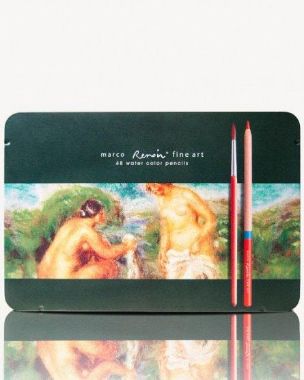 Creioane colorate,48b/cut.met,Marco FineArt Aqua