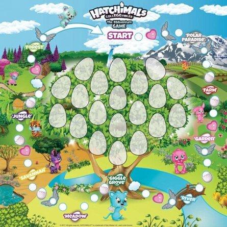 Joc distractiv Hatchimals,cu zaruri