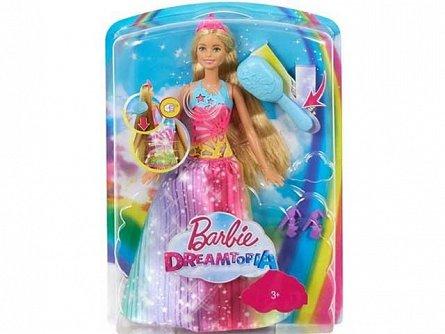Papusa Barbie,Dreamtopia,perie magica,sunete si lumini