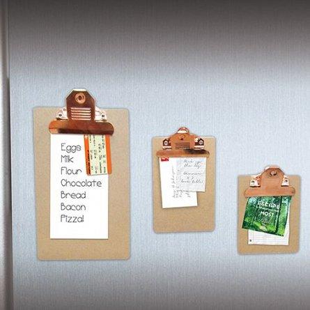 Magneti de frigider cu clema de prindere Clipboard