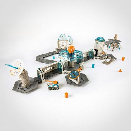 Kit montabil Hexbug Nano Space Cosmic Command + 2 Nano