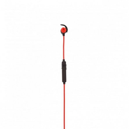 Casti sport In-Ear Tellur Speed, BT, buton, rosu