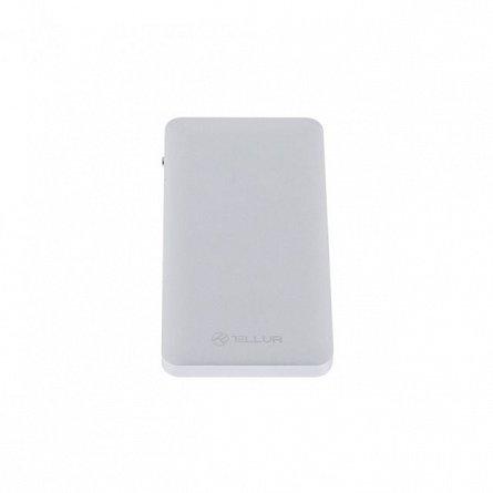 Baterie externa 10000mAh Tellur QC 3.0, argintie