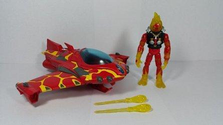 Vehicul extraterestru cu figurina,Ben 10,Torta Vie