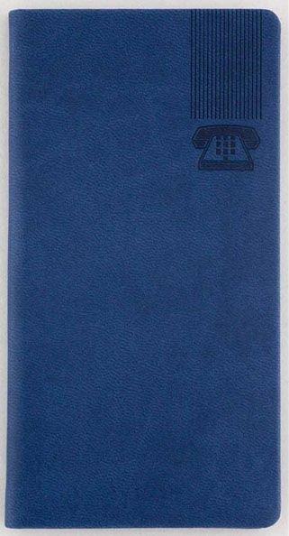 Agenda telefonica Bristol,50p,albastru