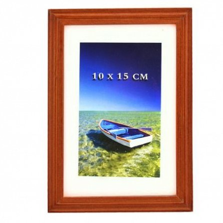 Rama foto,10x15cm,lemn,Neil,cires
