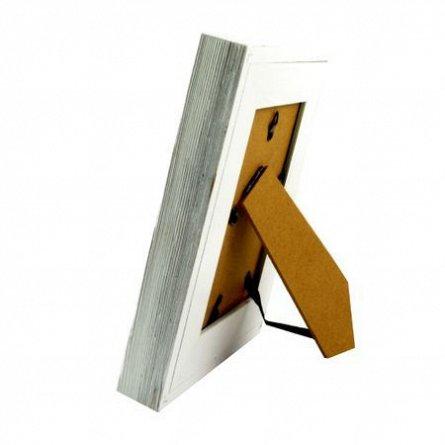 Rama foto,10x15cm,lemn,Ida,alb