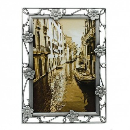 Rama foto,10x15cm,metalica,Savion,argintiu