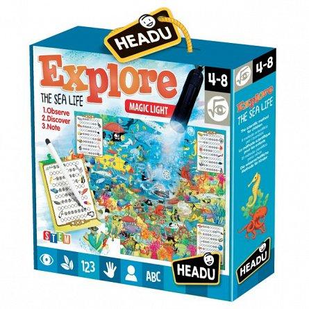 Joc educativ Headu - Joc explorati viata marina