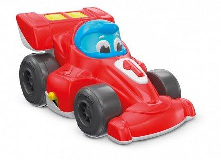 Masina Formula 1,pull-back,sunete si lumini,Clementoni