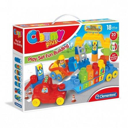 Constructii amuzante,set de joaca,18M+,Clemmy