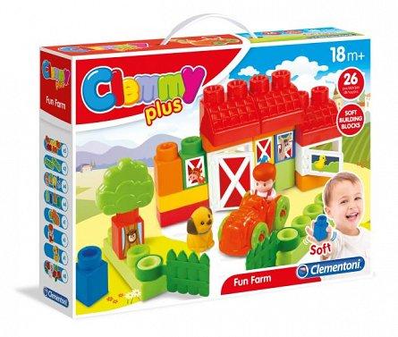 Ferma,set de joaca,18M+,Clemmy