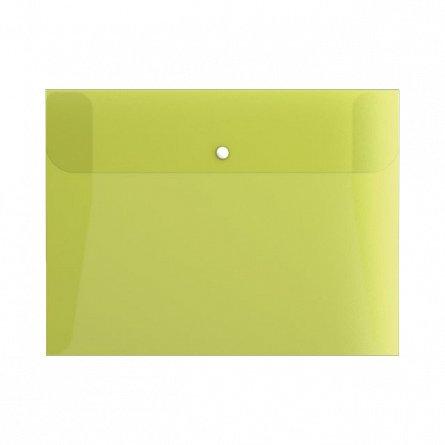 Mapa plastic,A4,capsa,3flapsuri,Fizzy Neon