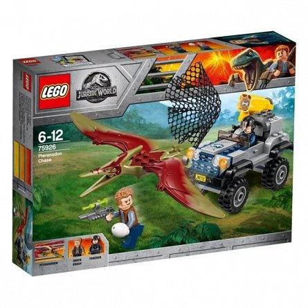 Lego-Jurassic World,Urmarirea Pteranodonului,6-12Y