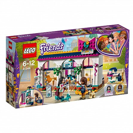 Lego-Friends,Magazinul de accesorii al Andreei,6-12Y