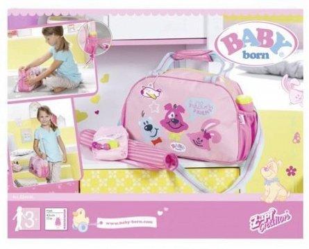 Baby Born-Geanta pentru schimburi