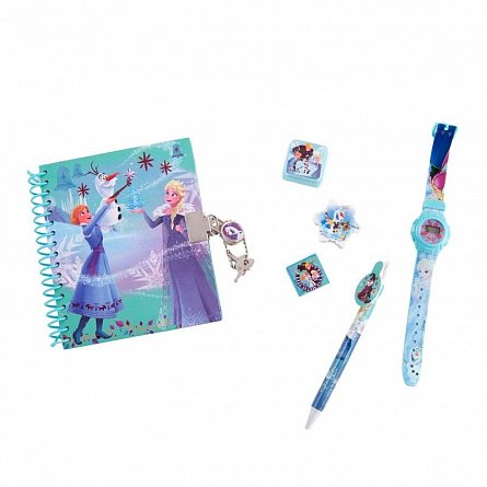 Agenda+instrumente scris,6piese,Frozen