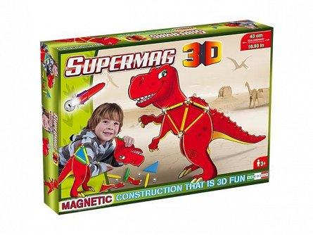 Supermag,3D-Set constructie,magnetic,T-Rex,40pcs,+5Y