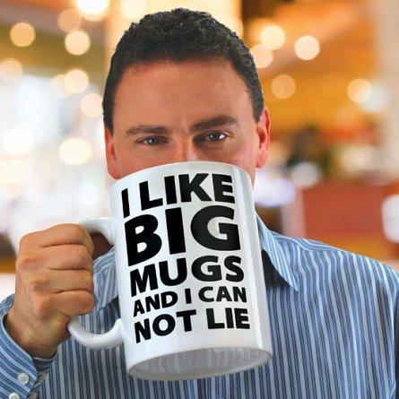 Cana uriasa I like Big Mugs, 1.9L
