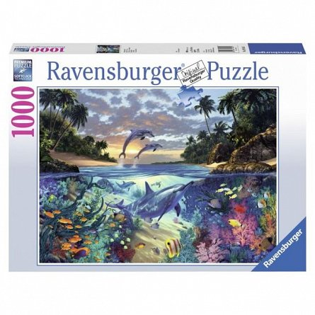Puzzle Ravensburger - Golful Coralilor, 1000 piese
