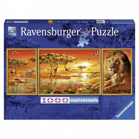 Puzzle Ravensburger - Africa, 1000 piese