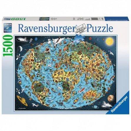 Puzzle Lumea animata,1500pcs