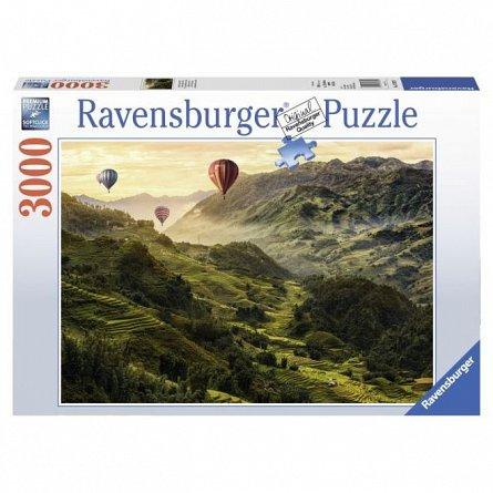 Puzzle Ravensburger - Terase de orez, 3000 piese