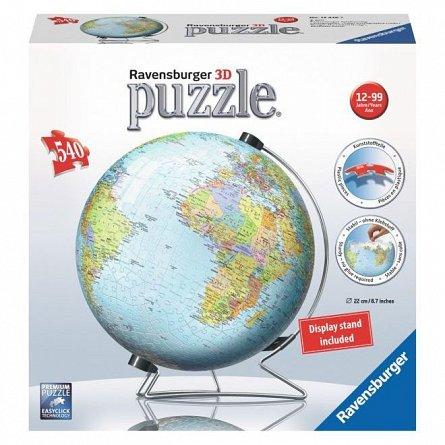 Puzzle 3D Ravensburger - Pamantul, 540 piese