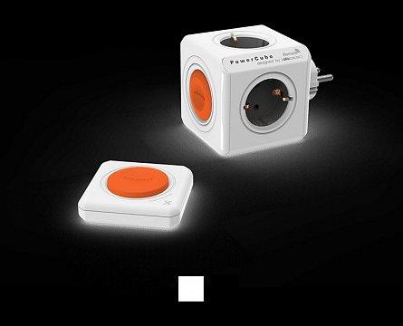 Priza compacta PowerCube Original Remote SET, negru